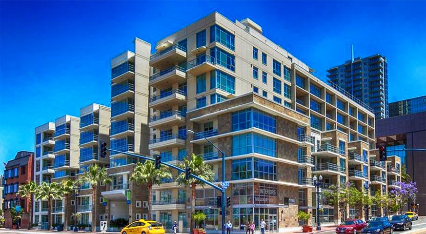 Downtown condo for sale 1 bedrooms 1431 pacific - One bedroom condos for sale in san diego ...